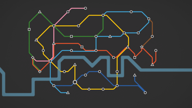 Mini Metro London Map